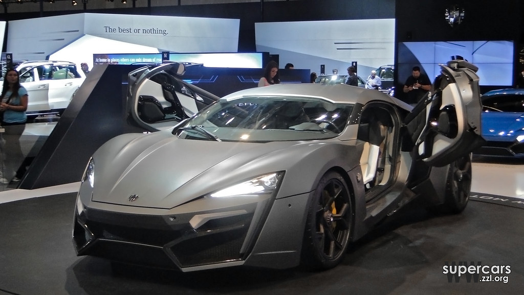 Lykan Hypersport At Dubai Motor Show 2013 A Very Expensive Flickr