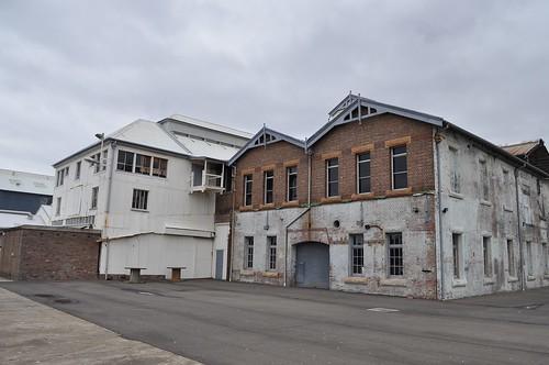 Cockatoo Island buildings - brick