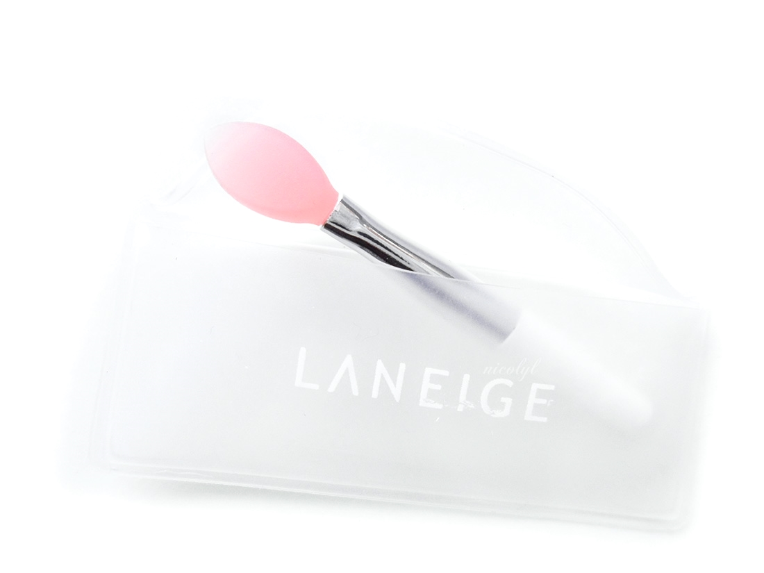 Laneige Lip Sleeping Mask review and swatch