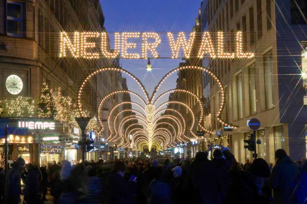 Neuer Wall Weihnachtsbeleuchtung.5892 Weihnachtliche Straßendekoration Weihnachtsbeleucht Flickr