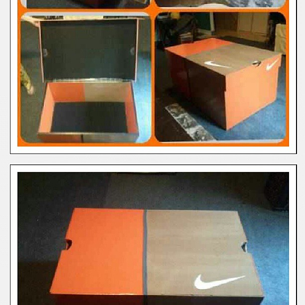 Merveilleux ... This Nike Shoebox Coffee Table Is Dope, Time To Get.bigger Spot Fuck  Dope