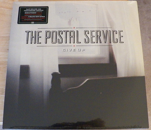 The Postal Service Give Up Deluxe 10th Anniversary Edit