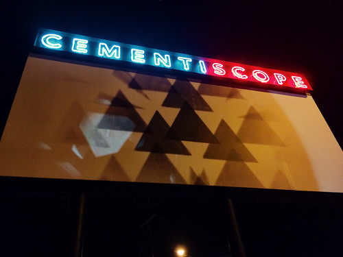 Cementiscope in Arts District (October 15 2015)