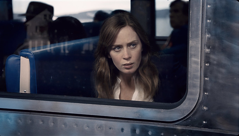 Emily Blunt is the drunk who is THE GIRL ON THE TRAIN.