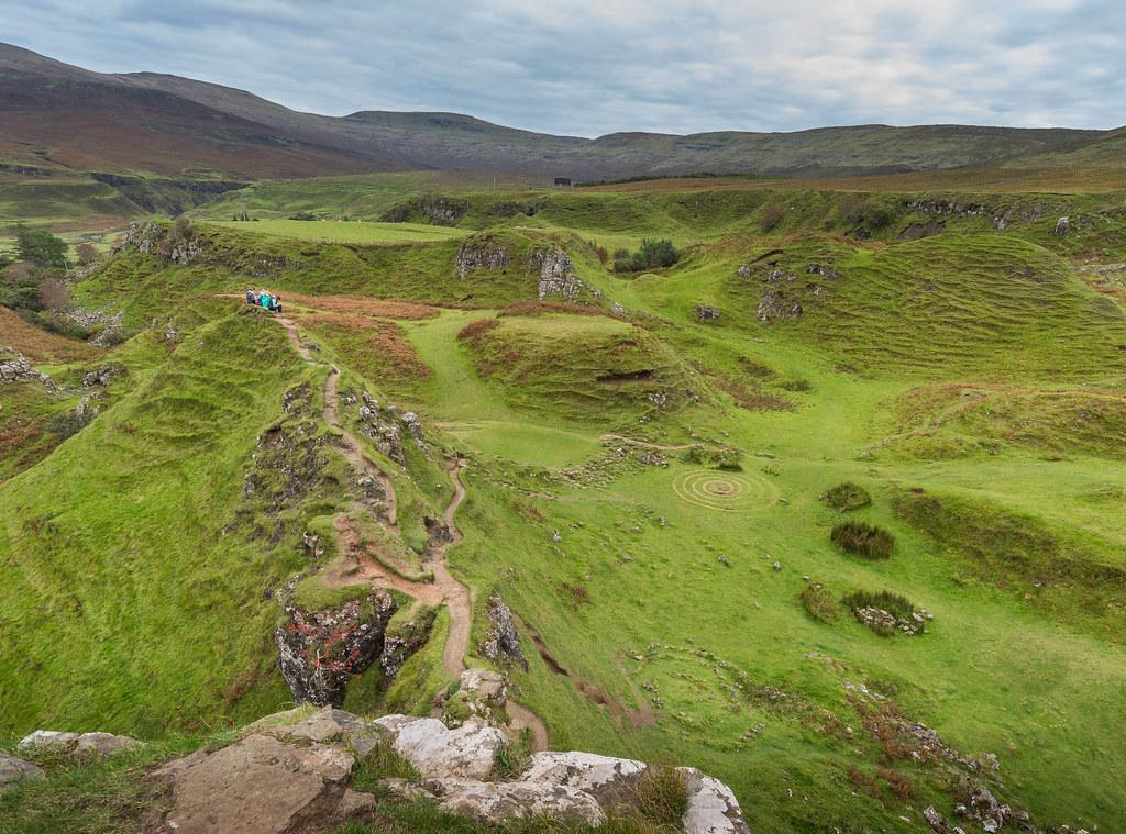 Walk Report - Isle of Skye - Fairy Glen, Wild Camp and ...