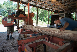 Cutting Spruce Rafters for Grindbygg Timber Frame Workshop | by goingslowly