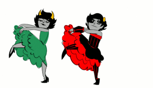 dancing can can kanaya and kankri steven puente flickr