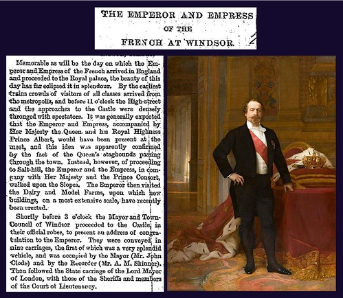 17th April 1855 - Visit of Napoleon III, Emperor of France | by Bradford Timeline