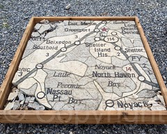NEW YORK STATE TEXACO MAP Mosaic Panel, 1939/1964 World\'s … | Flickr