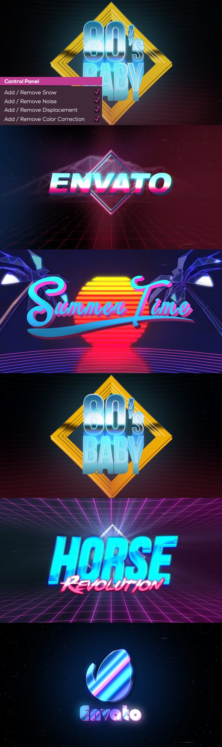 Videohive - 80's Baby | VHS Logo-Titles Opener 18657101 - Free Download