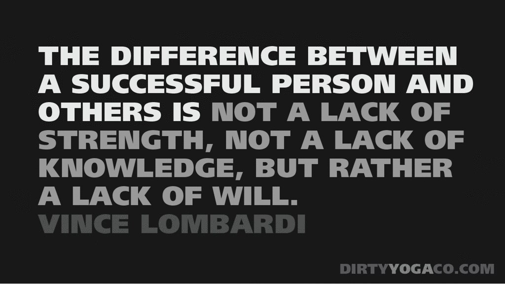 Words Of Wisdom From Vince Lombardi The Difference Between Flickr