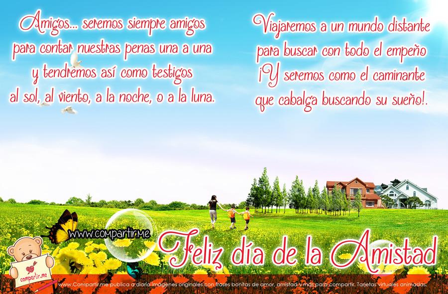 Frases De Amor Poema De Amistad Con Imagen Bonita En Hd Flickr