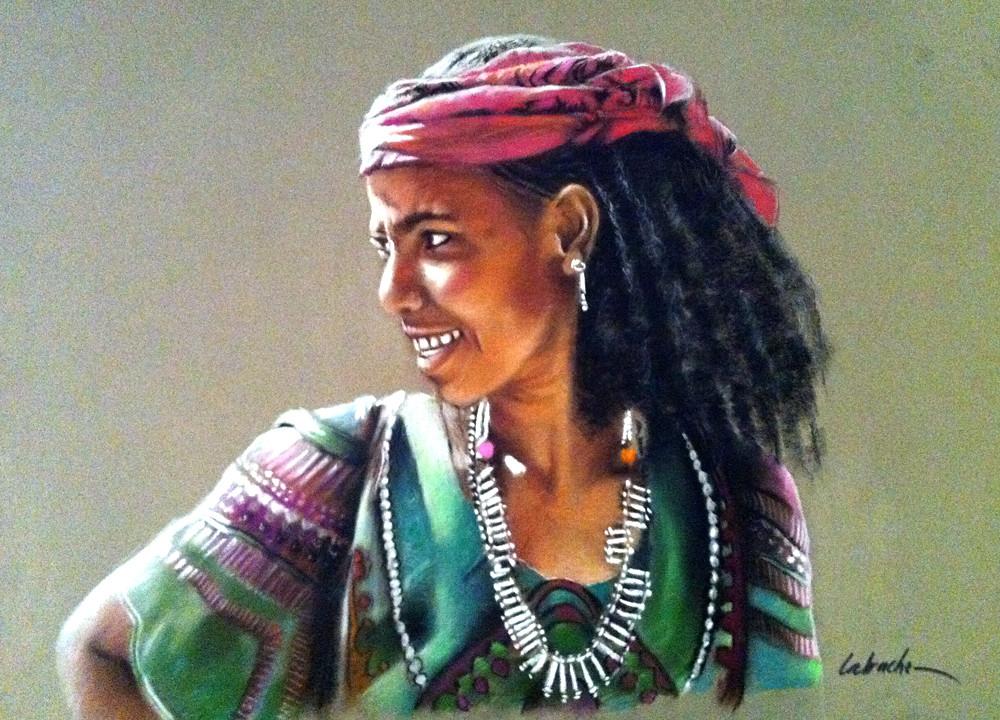 Femme d'Ethiopie