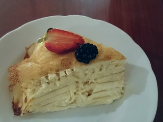 Durian Crepe Cake Vancouver