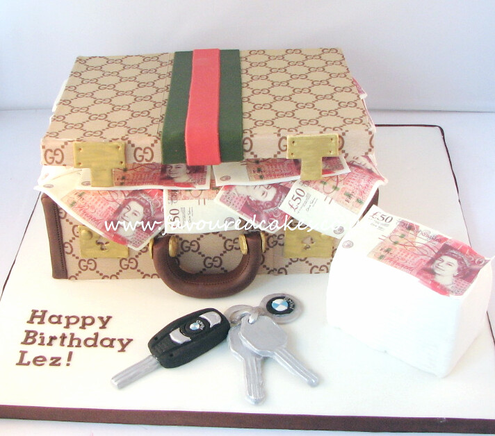 Gucci Suitcase Money Cake Bmw Cake Sewa Soremi Flickr