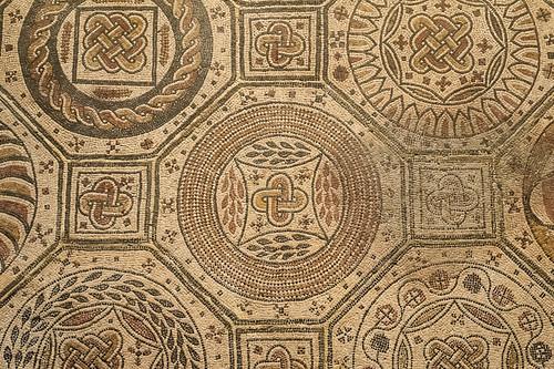 Mosaico romano, Museo de Navarra, Pamplona  Pamplona, Museo…  Flickr