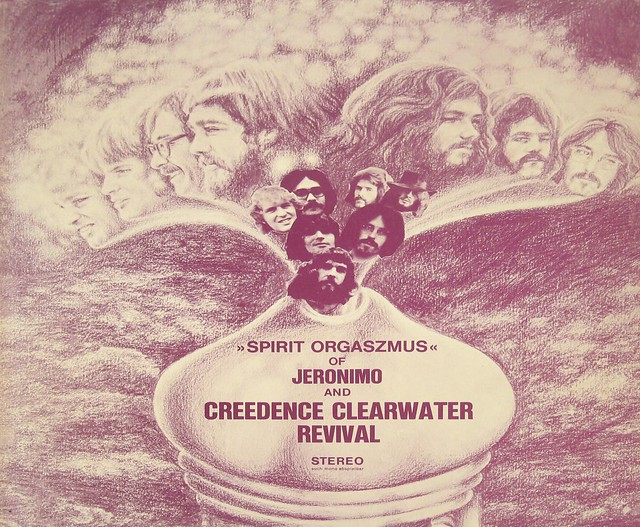 Jeronimo & Creedence Clearwater Revival Spirit Orgaszmus Pink Vinyl + Poster