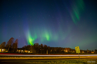 Aurora on E4 Highway - Sweden.jpg | by SWTRIPS