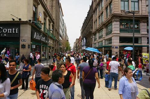 Calle Peatonal de Madero