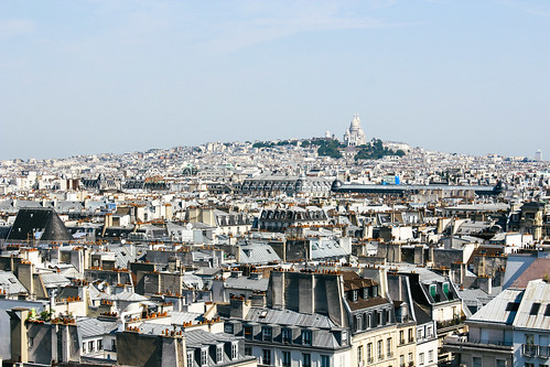 View of Sacré-Coeur from Centre Pompidu | by Ashlae | oh, ladycakes