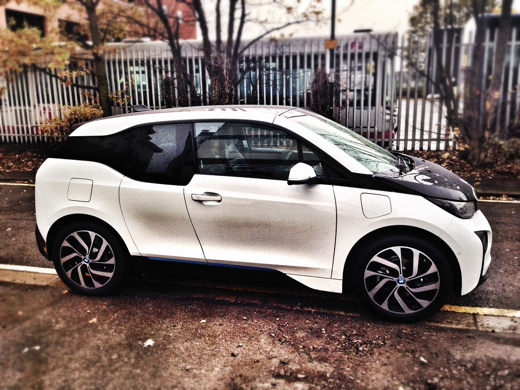 Bmw I3 Side On Closed Doors Car Leasing Made Simple Flickr