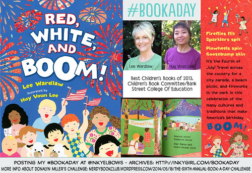 #BookADay: Red, White and Boom! - by Lee Wardlaw and Huy Voun Lee (Henry Holt Books For Young Readers, 2012). | by Inkygirl