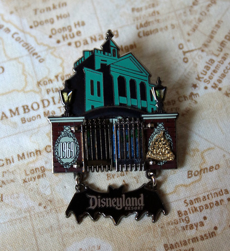 Haunted Mansion gate pin