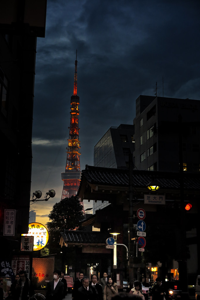Tokyo Tower From Hamamatsucho