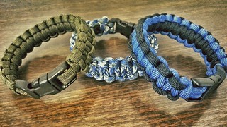 Paracord Bracelets | by GA-Kayaker