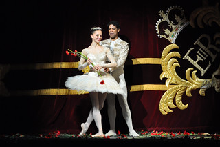 Carlos Acosta and Marianela Nuñez at the curtain call for the gala night of Don Quixote © ROH / The Ballet Bag 2013 | by Royal Opera House Covent Garden