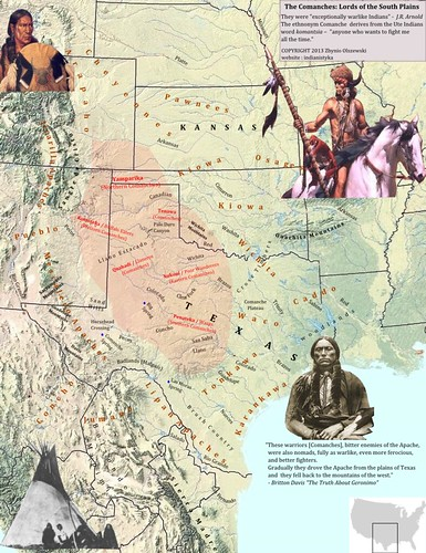 Comancheria_Indians_tribal_lands_Comanches_and_Kiowa | Flickr