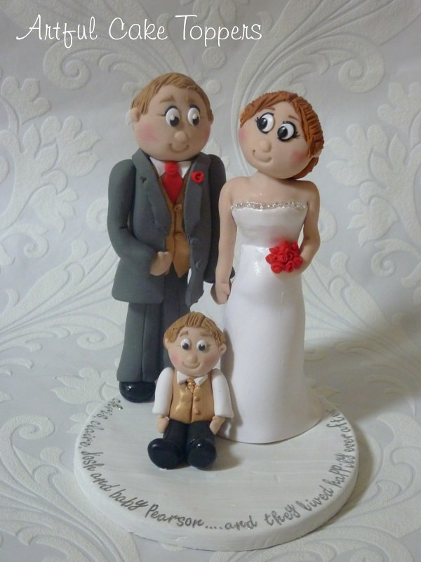 Family Clay Personalised Wedding Cake Topper | Bride (mum to… | Flickr