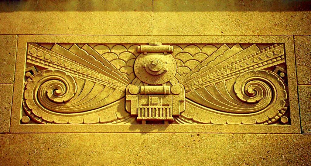 Art Deco Bas-Relief .... Canadian National Railway (Liuna)… | Flickr