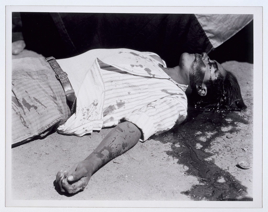 Manuel ALVAREZ BRAVO, ouvrier en grève assassiné, 1934, Musée d'art moderne de la ville de Paris