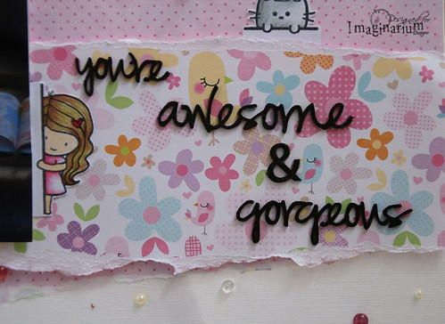 """You're Awesome & Gorgeous"" Layout"