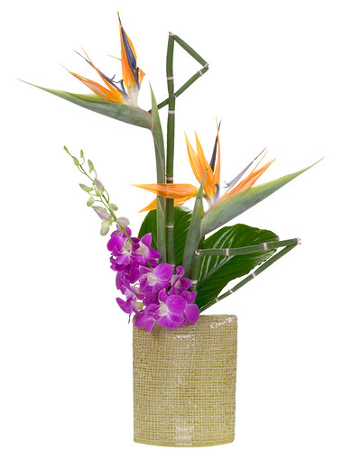 Hawaiian Tropical — Leanne and David Kesler, Floral Design Institute, Inc., in Portland, Ore. | by Flower Factor