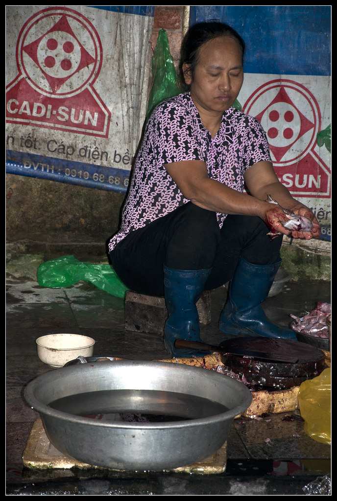 0018-DESOLLANDO UNA RANA VIVA (Hanoi) | Hoy cambio de regist… | Flickr