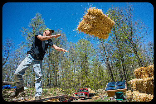Kolakoski Farm Straw Bale Delivery! | by goingslowly