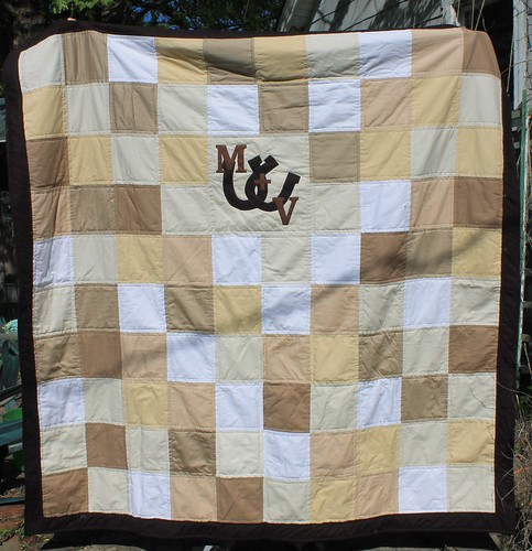 Horseshoe Wedding Signature Quilt | by DanaK~WaterPenny