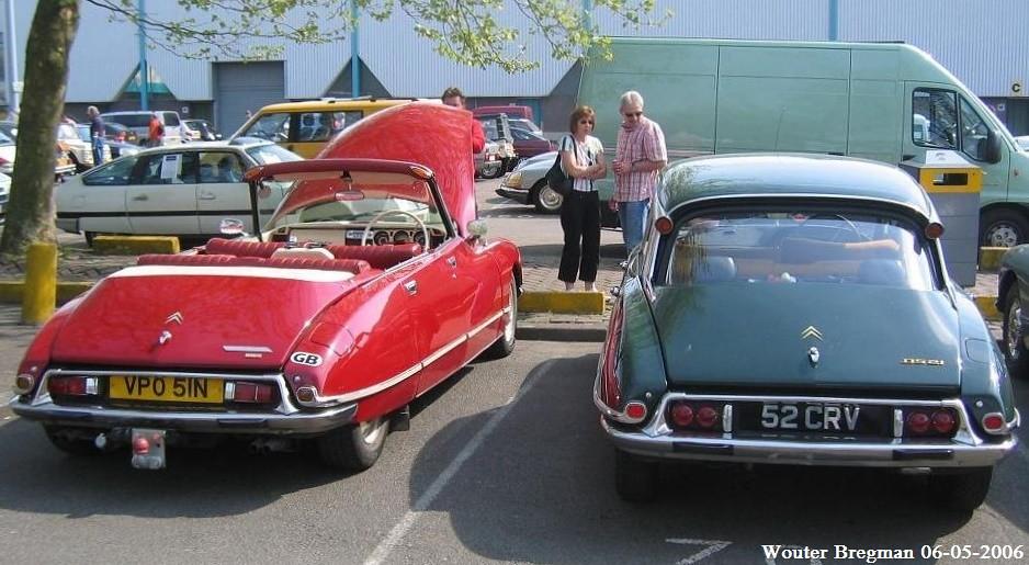 citroën ds v6 cabriolet 1973 & citroën ds 21 pallas 1967 | flickr