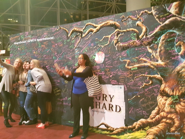 Angry Orchard backdrop