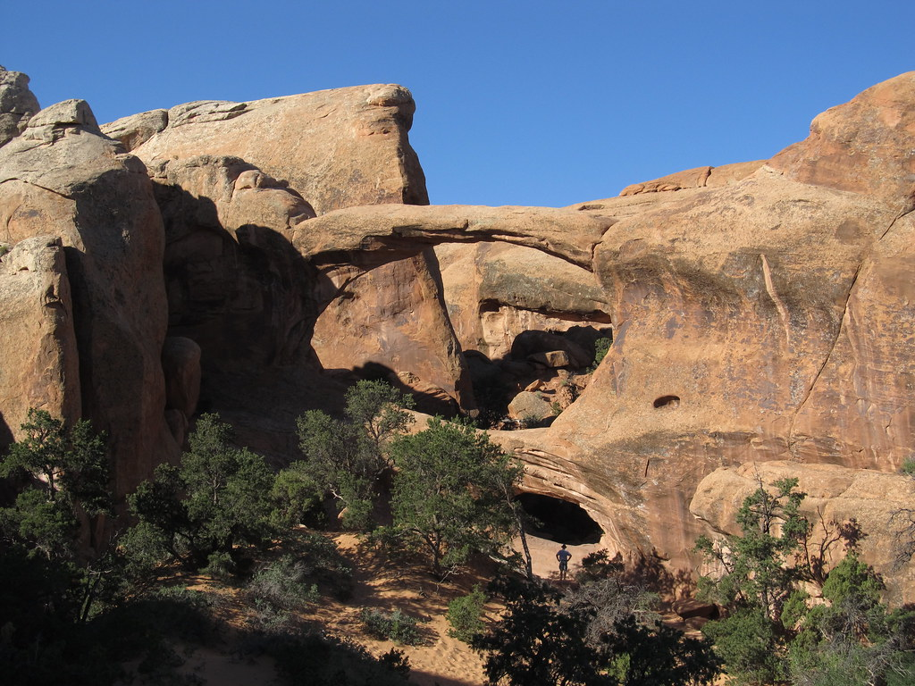Double O Arch, Devils Garden Trail, Arches National Park, … | Flickr
