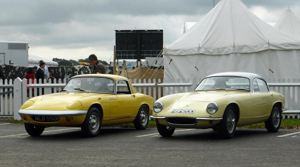 1965 Lotus Elan Series 3 Coup and 1963 Lotus Elite  Flickr
