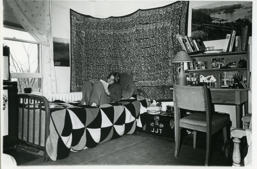 ... Student In Dorm Room, 1970s | By Duke University Archives Part 52