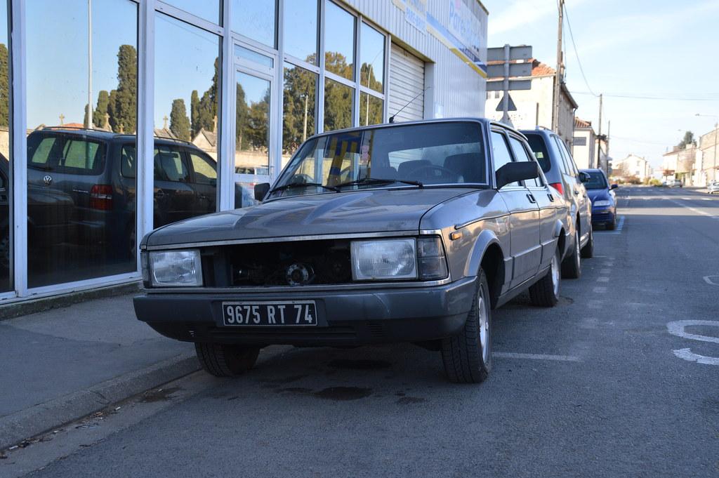 1983 Fiat Argenta Ii Turbo Diesel 9675 Rt 74 4 Dcembre Flickr