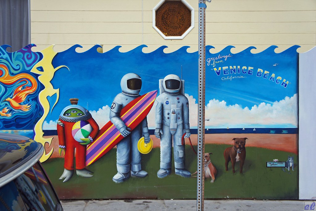 Wall Art #2, Venice CA. Artist: Brian Mylius. | Eric Lassiter | Flickr