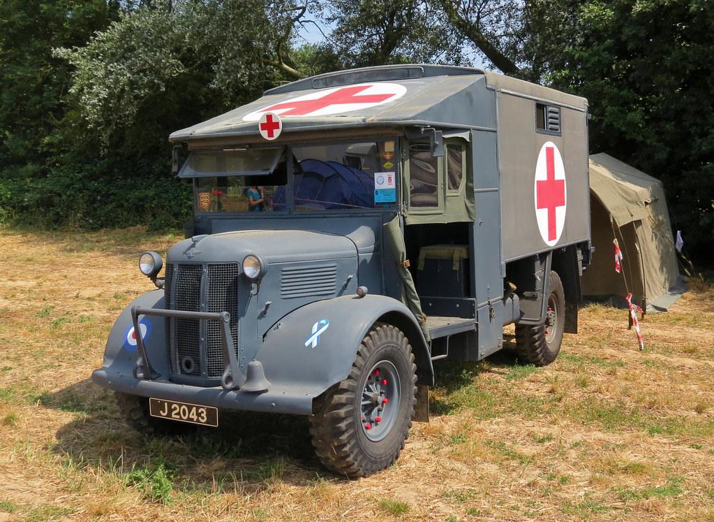 J2043 Austin K2 RAF Ambulance | dave | Flickr