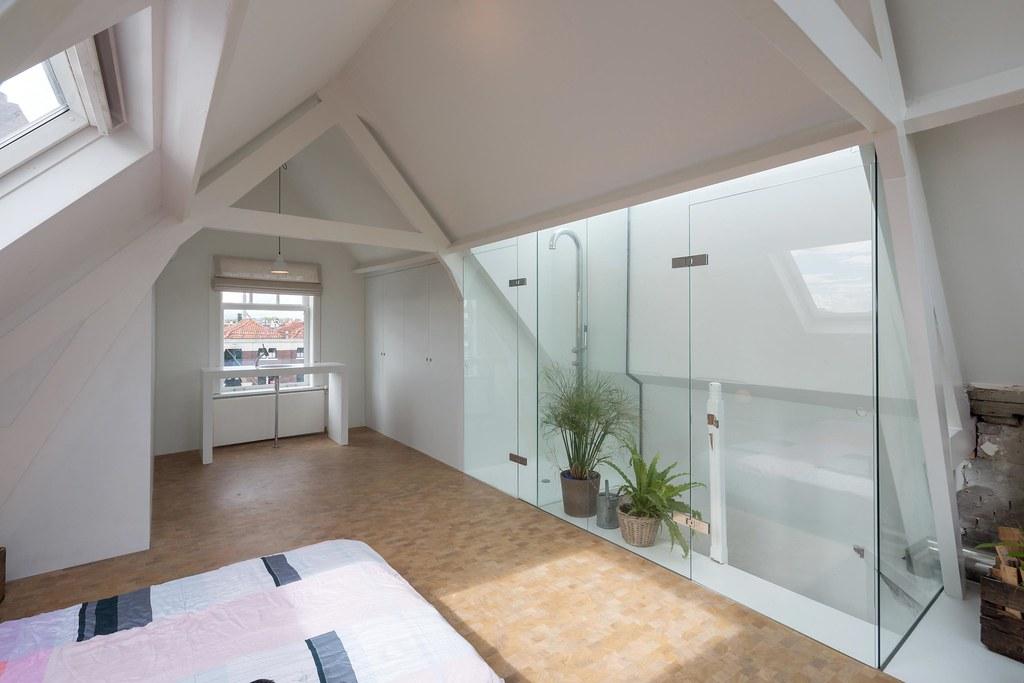 Loftwoning Delfshaven // slaapkamer met inloopdouche en vr… | Flickr