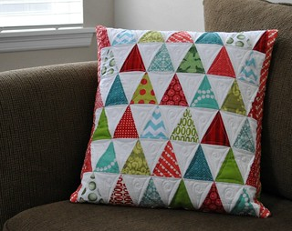 Christmas pillow front | by vickivictoria