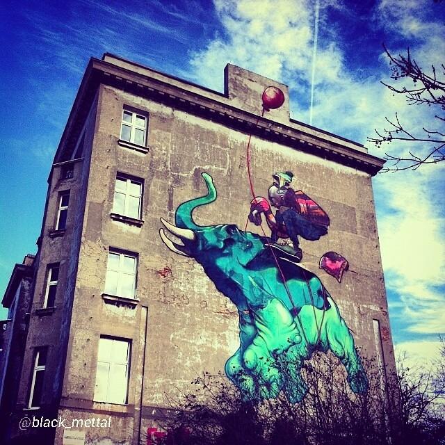 Zachwycajace Lodzkie Murale Lodz Murale Muralelodz Flickr